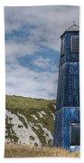 Blue Lighthouse Beach Towel
