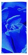 Blue Romance Beach Towel
