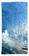 Blue Sleeve  - Triptych   Part 1of 3 Beach Towel