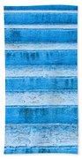 Blue Steps Beach Towel