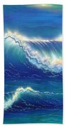 Blue Thunder Beach Towel