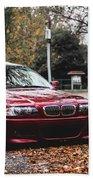 BMW Beach Sheet