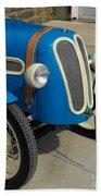Vintage Bmw Racer Beach Towel