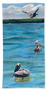 Boating In Fort Myers Beach Towel