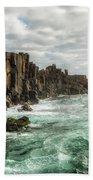 Bombo Headland Quarry At Kiama, Australia Beach Towel