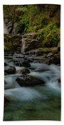 Brandy Creek Falls Beach Towel