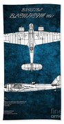 Bristol Blenheim Beach Towel