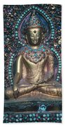 Buddhist Deity Beach Sheet