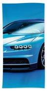 Bugatti Chiron 30 Beach Towel