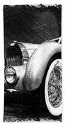 Bugatti Type 57 Aerolithe Beach Towel