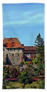 Burg Colmberg Beach Towel