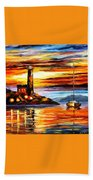 By The Lighthouse Beach Towel