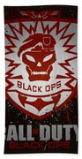 Call Of Duty Black Ops Beach Towel