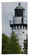 Cana Island Lighthouse Beach Towel