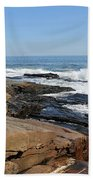 Cape Elizabeth, Maine Beach Towel