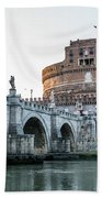 Castel Sant'angelo Beach Towel