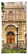 Catedral Antigua Guatemala - Guatemala Vii Beach Sheet
