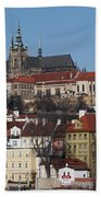 Cathedral Of St Vitus Beach Towel by Michal Boubin