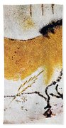 Cave Art: Lascaux Beach Towel
