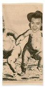 Celebrity Etchings - One Direction   Beach Towel