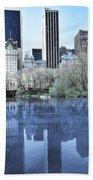 Central Park In New York City Beach Towel