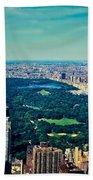 Central Park Beach Towel