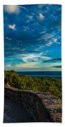 Champlain Lookout Beach Towel