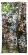 Chantara Waterfalls - Cyprus Beach Towel