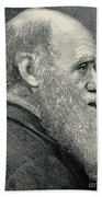 Charles Darwin, English Naturalist Beach Towel