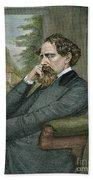 Charles Dickens Beach Sheet