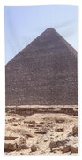 Cheops Pyramid - Egypt Beach Towel