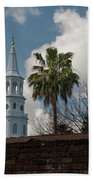 Church Bells Ringing Beach Towel