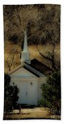 Church In The Garden Beach Towel
