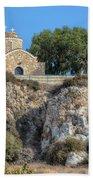 Church Of Profitis Elias - Cyprus Beach Towel