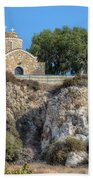 Church Of Profitis Elias - Cyprus Beach Sheet