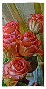 Cindy's Roses Beach Towel