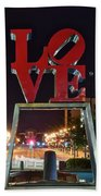 City Of Brotherly Love Beach Towel
