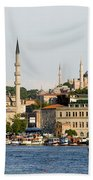 City Of Istanbul Beach Towel