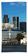 City Of London Skyline Beach Towel