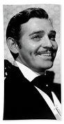 Clark Gable As Rhett Butler Gone With The Wind 1939-2015 Beach Towel