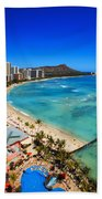 Classic Waikiki Beach Towel