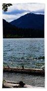 Clear Lake Washington Beach Towel