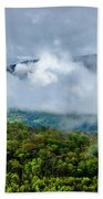 Clearing Storm West Virginia Highlands Beach Towel