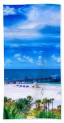 Clearwater Beach, Florida Beach Towel