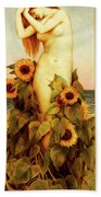 Clytie Beach Towel