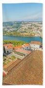 Coimbra Aerial View Beach Towel