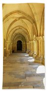 Coimbra Cathedral Colonnade Beach Towel