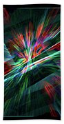 Color Burst Beach Towel