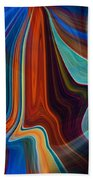 Color Me Abstract Beach Towel