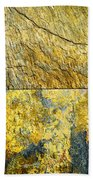 Colorful Slate Tile Abstract Composite V3 Beach Towel
